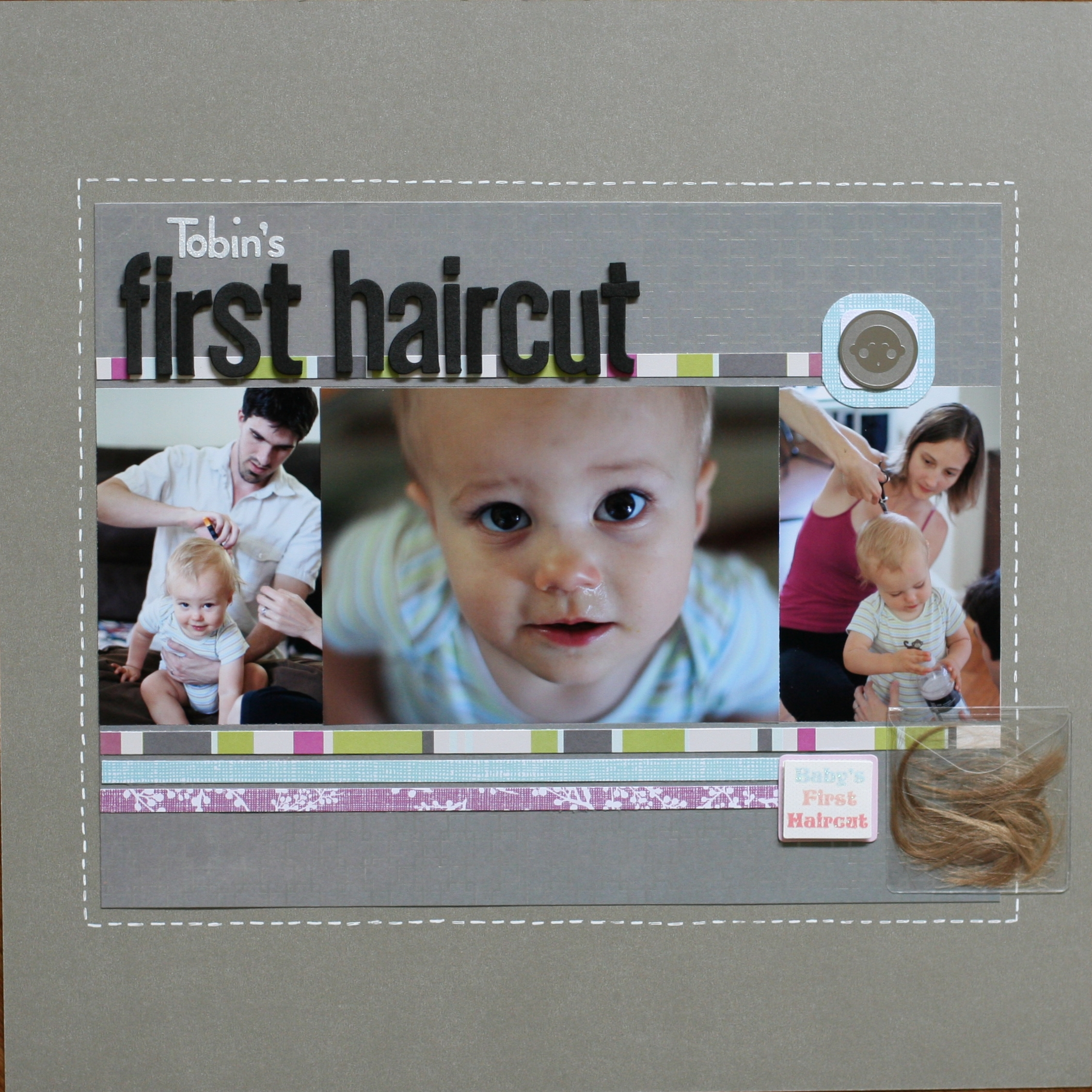 Blog Archive Tobins First Haircut 2