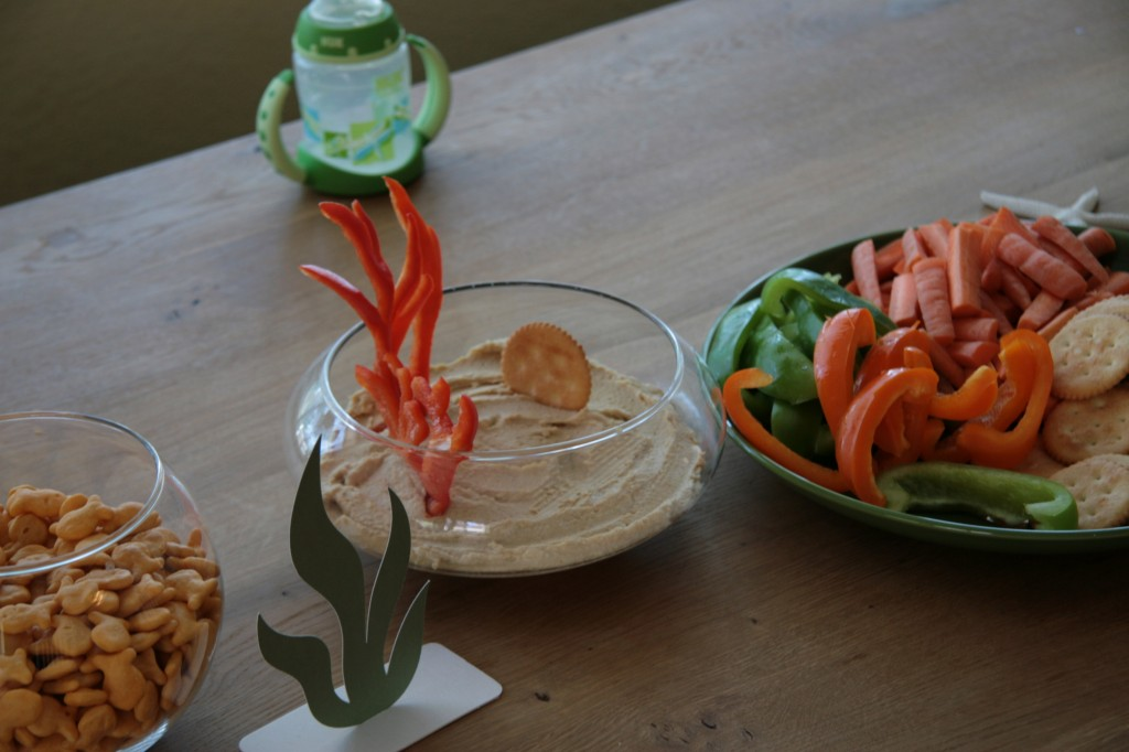 Blog archive a fish themed birthday party for Fish themed party food